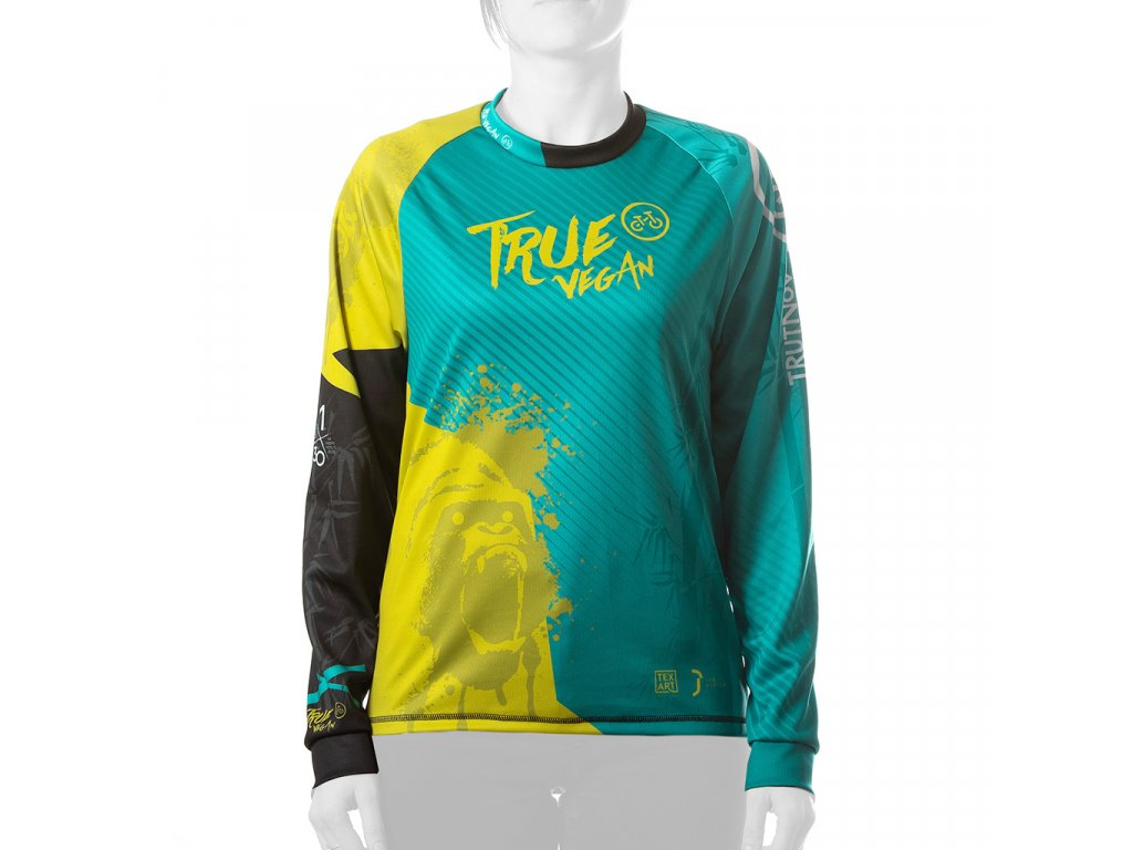 Enduro jersey True Vegan WMN long 01