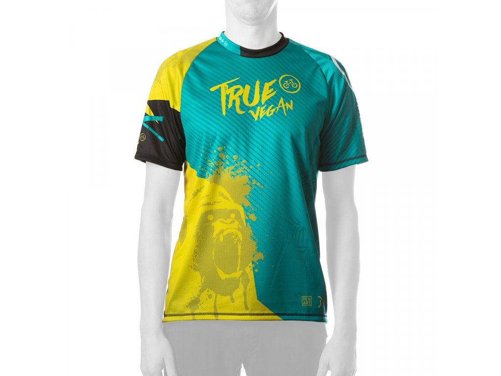 Enduro jersey True Vegan MAN short 01