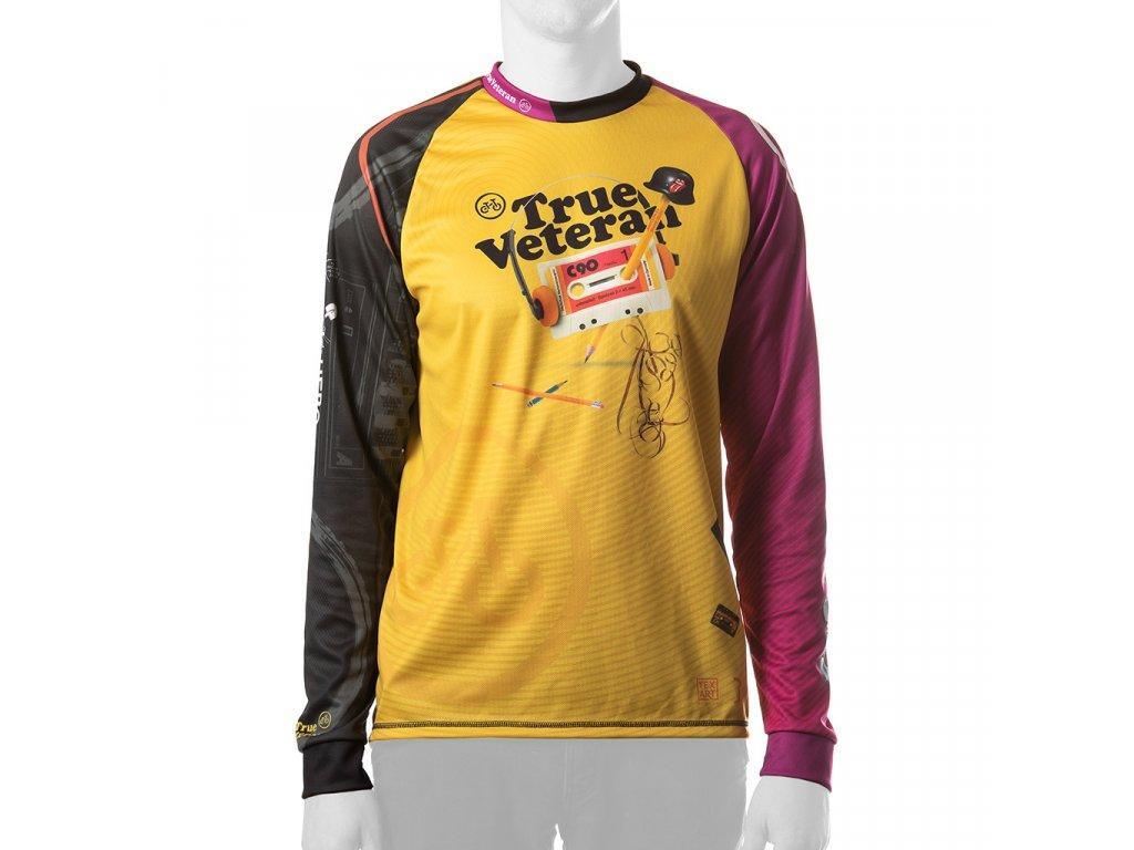 Enduro jersey True Veteran MAN long pink 01