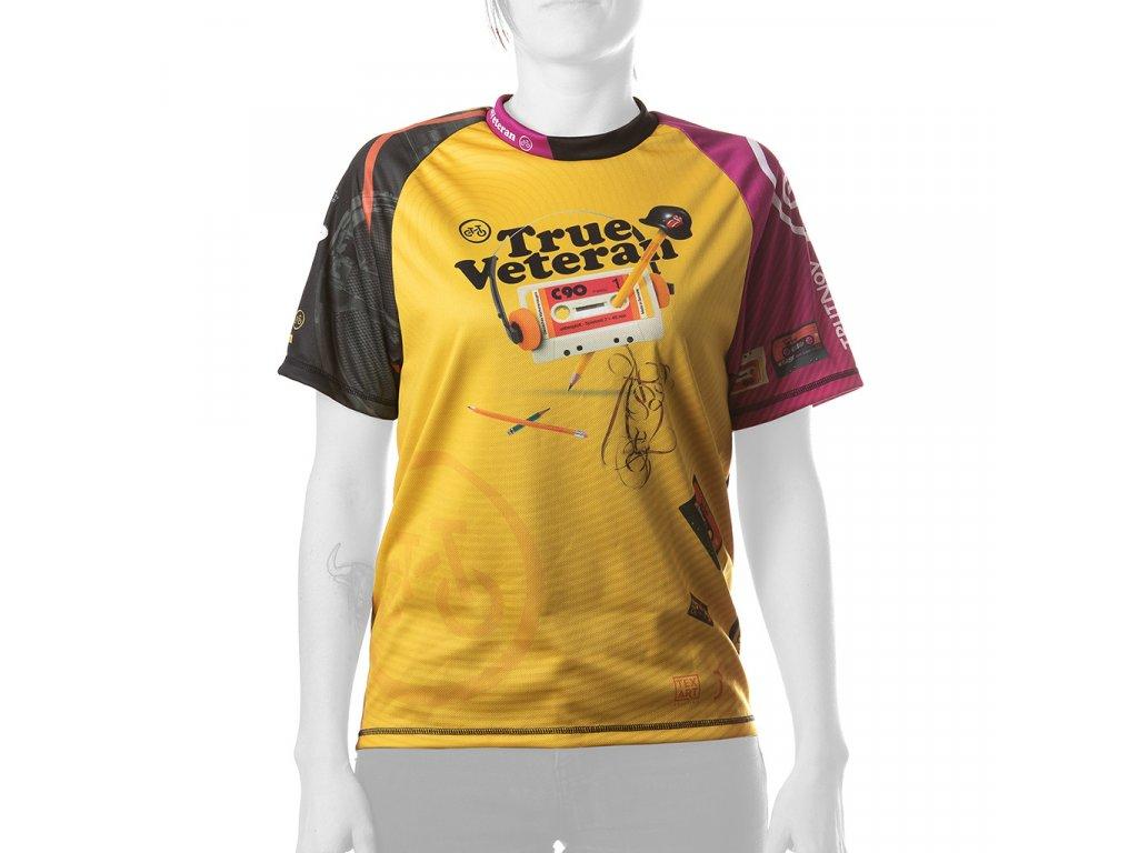 Enduro jersey True Veteran WMN short pink 01