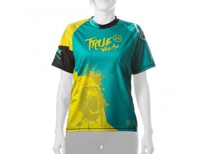 Enduro jersey True Vegan WMN short 01