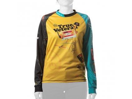 Enduro jersey True Veteran WMN long blue 01