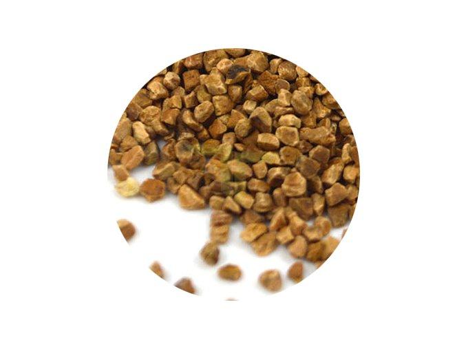 Ořechové skořápky kolečko
