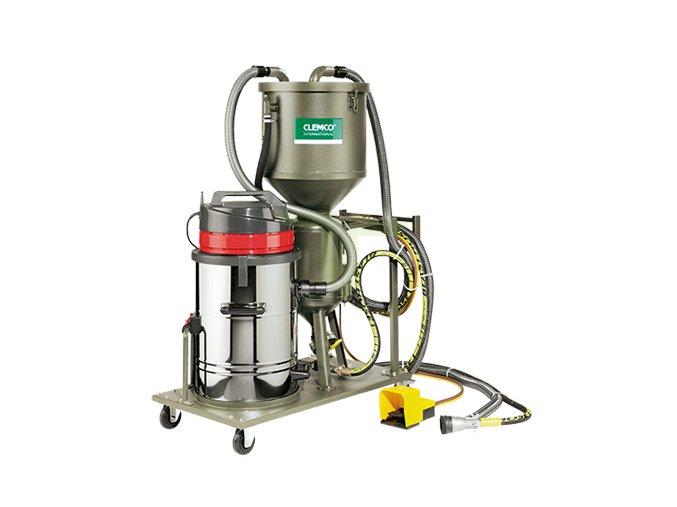 Tryskací tlaková pískovačka s odsáváním Clemco HSP 20