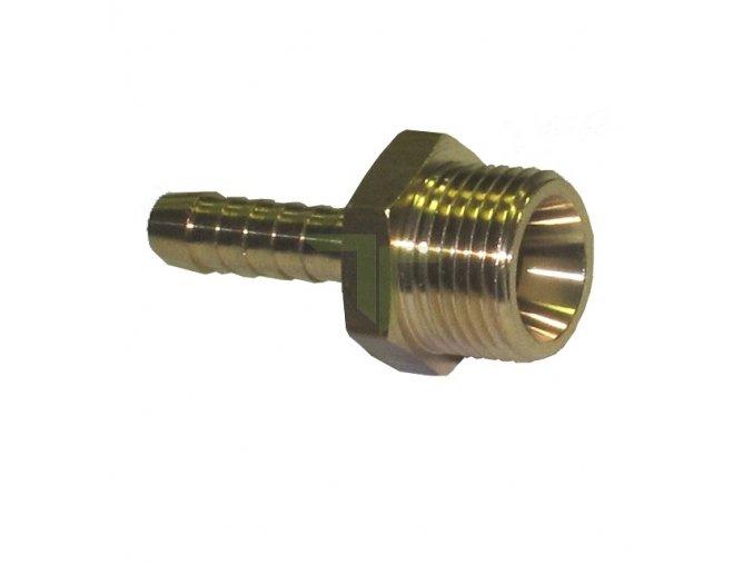 """Trn s vnějším závitem G1/4"""", na hadici 6mm"""
