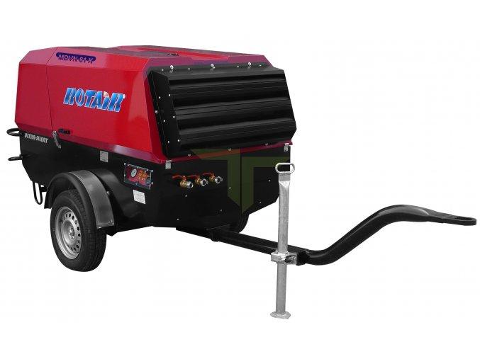 Dieselový kompresor pro pískování MDVN 81 K