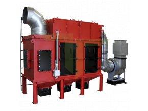 Průmyslový odsavač prachu SCF 160 Foto 1