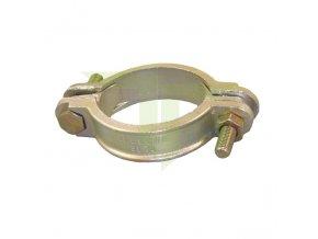 Klemová litinová spona 39-49mm, šířka 20mm
