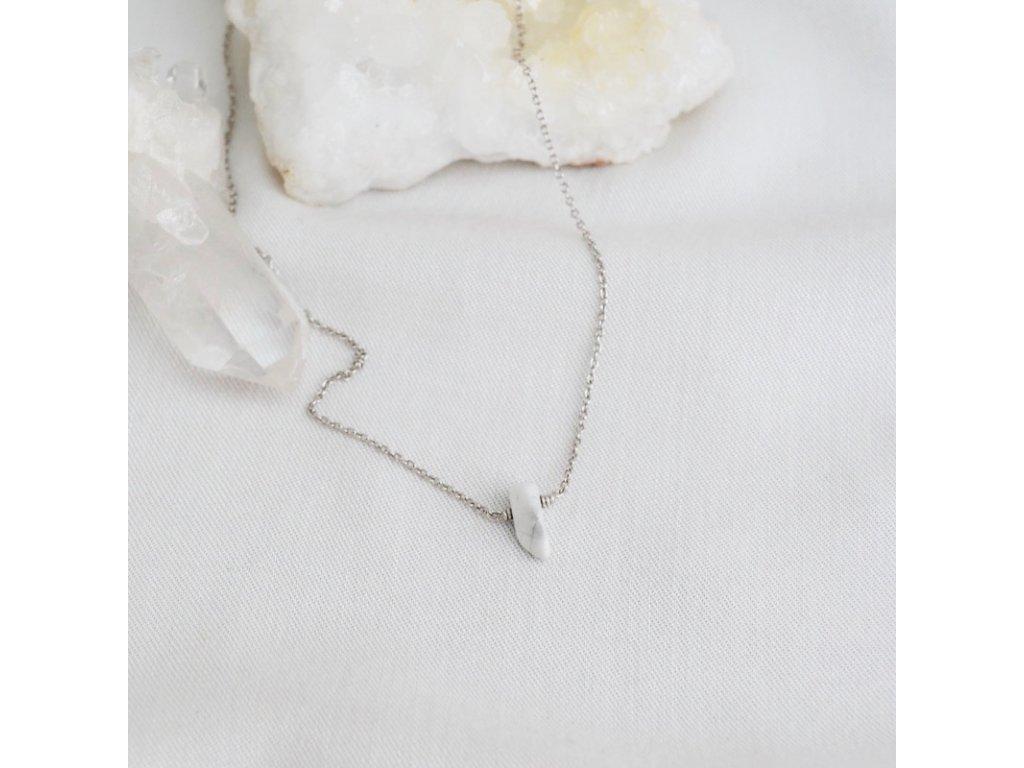 Stříbrný řetízek podle znamení Váhy Magnezit