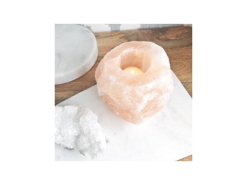 svicen z himalajske soli