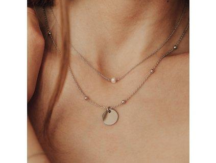 Stříbrný amulet pro štěstí 2