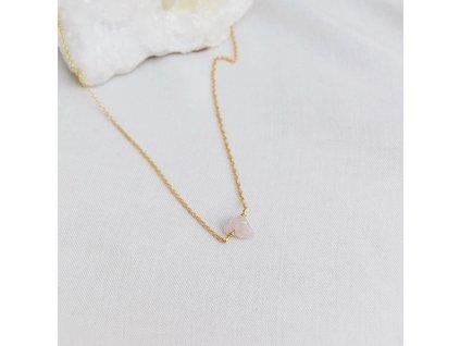 Řetízek s růženínem Býk znamení