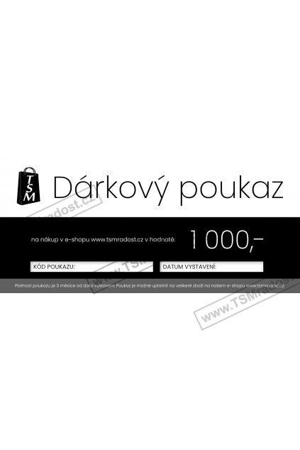 TSM darkovy poukaz1a 1000