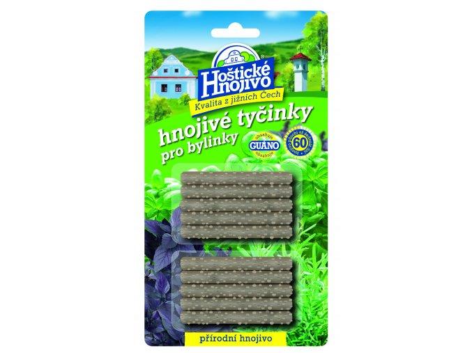 Hnojivé tyčinky pro bylinky