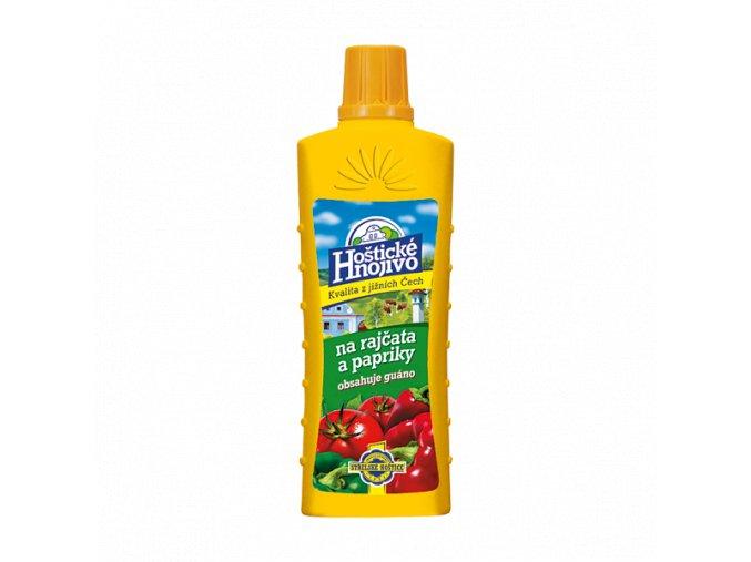 Hoštické tekuté hnojivo na rajčata a papriky - 0,5 L