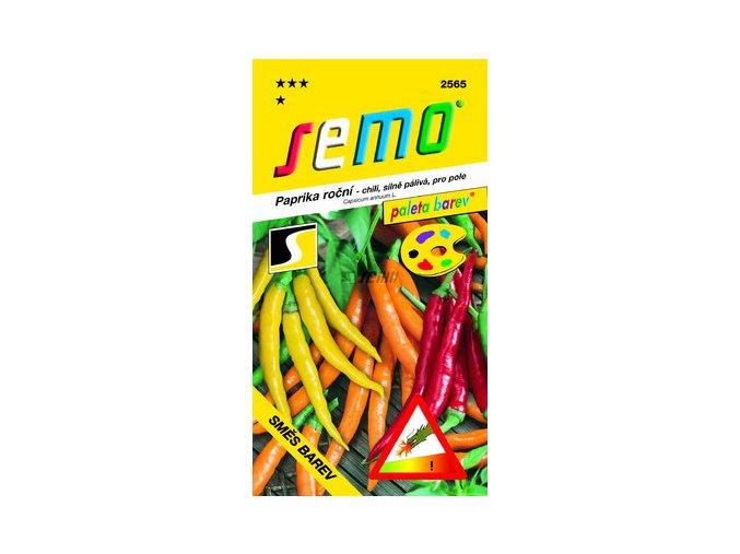 Paprika Směs barev chilli
