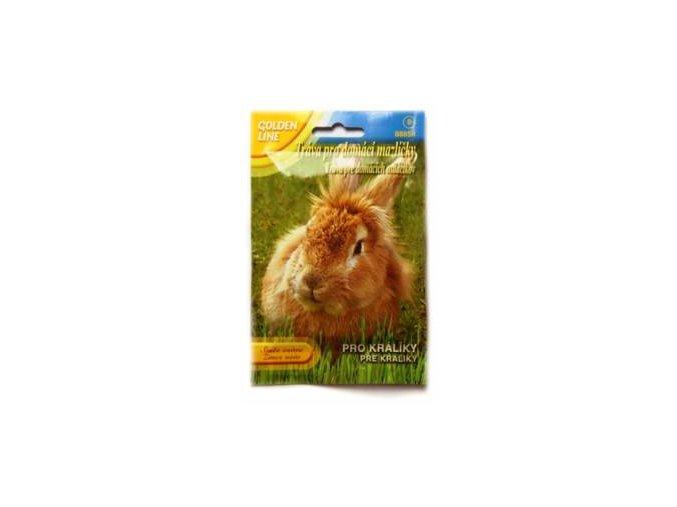 Tráva pro králíky