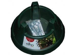 Plastový stojan na vánoční stromek ELHO Nordman 39 cm green