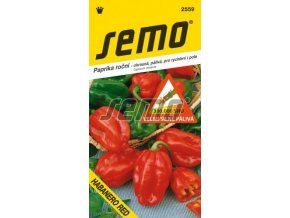 Paprika HABANERO lemon/žlutá SHU 500 000 jednotek