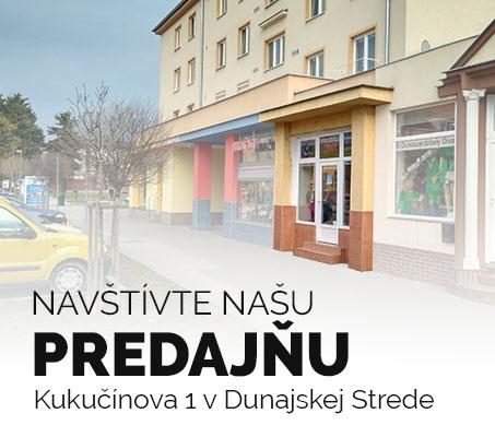 Predajňa Dunajská Streda