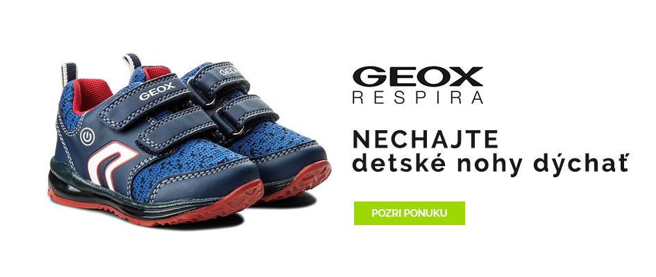 Geox - nechajte detské nohy dýchať