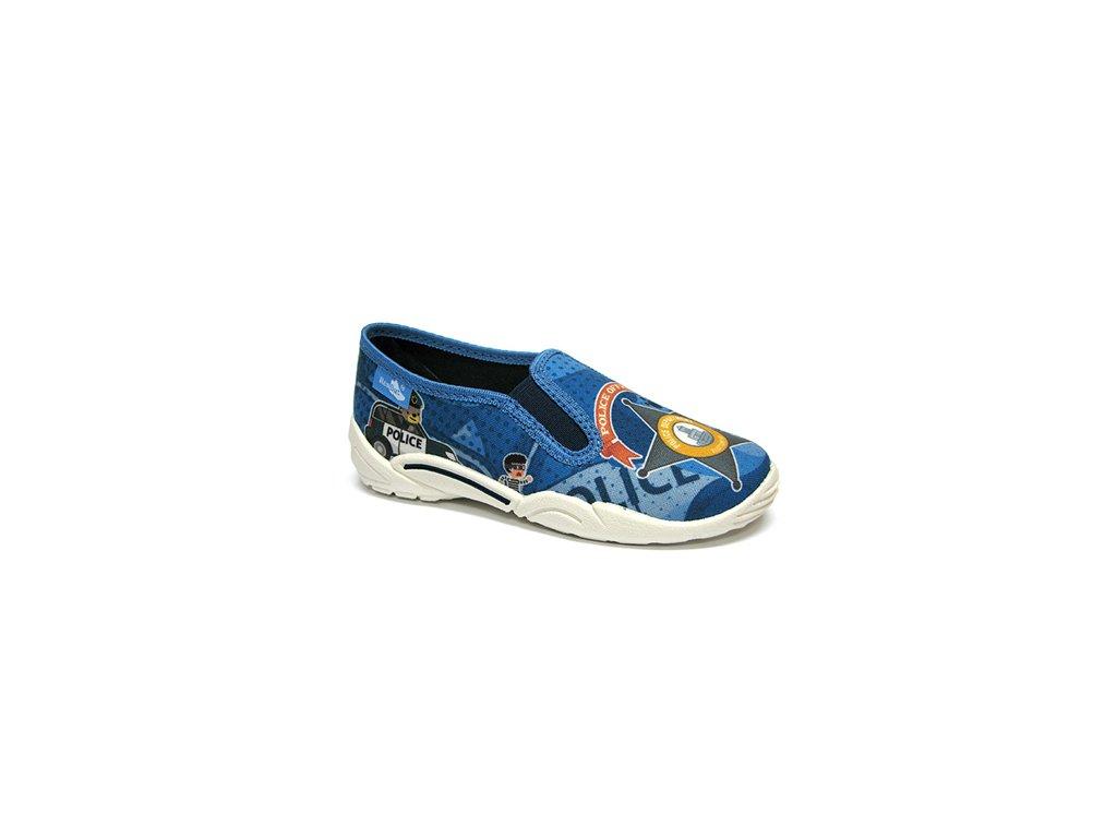 RenBut Detské Plátenné papuče 27-33