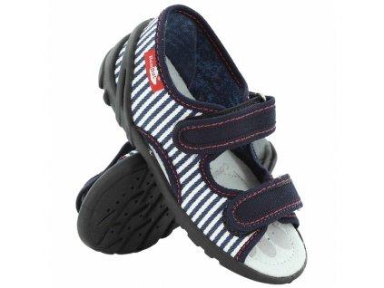 RenBut Detské Plátenné papuče 20-25