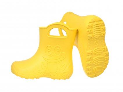 G001 žltá camminare žabka