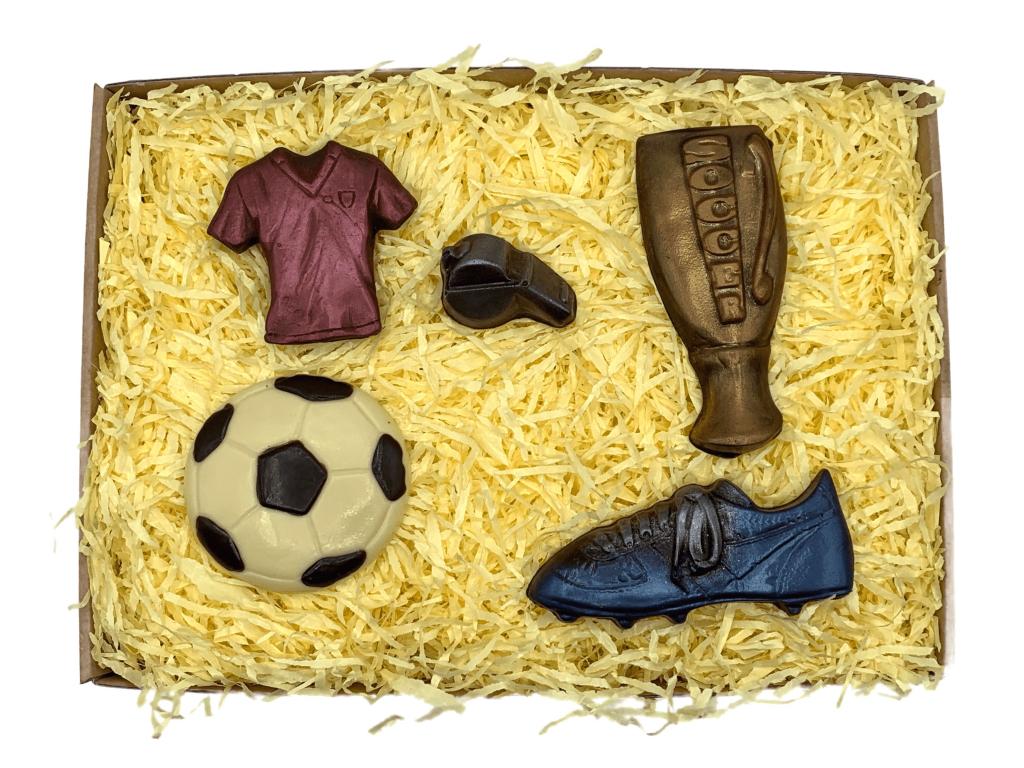 čokoládový fotbal