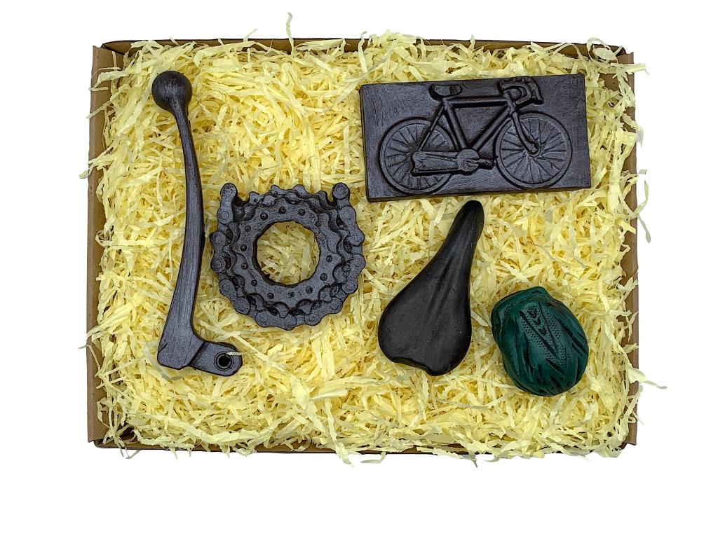 Čokoládová sada pro cyklisty