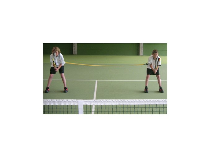 TOPSPIN Double tandem nácvik štvorhry