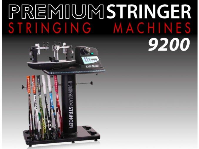 Vypletací stroj Premium  Stringer 9200