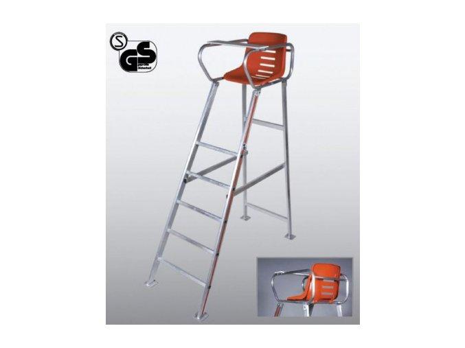 TOPSPIN Chair Umpire Royal Tournament hliníkový
