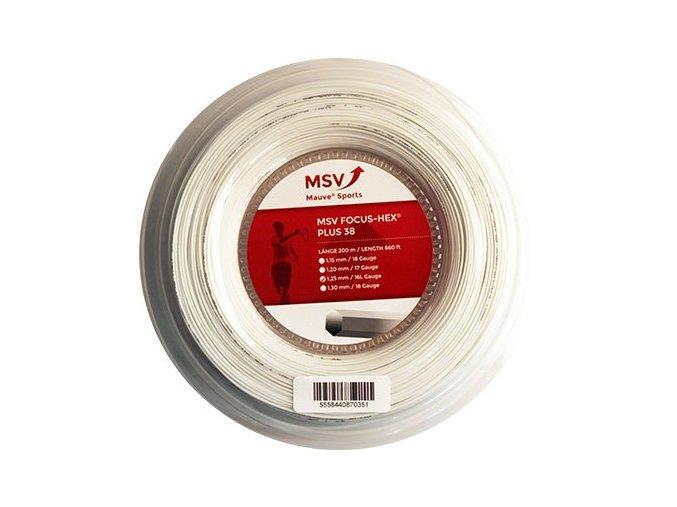 naciag tenisowy msv focus hex plus 38 200 m white 3e89.800x560