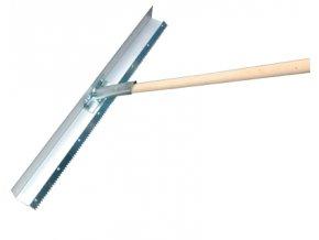TOPSPIN Hliníkové ohrablo s ozubením