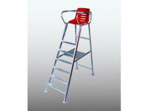 TOPSPIN Chair Umpire Royal DE Luxe hliníkový