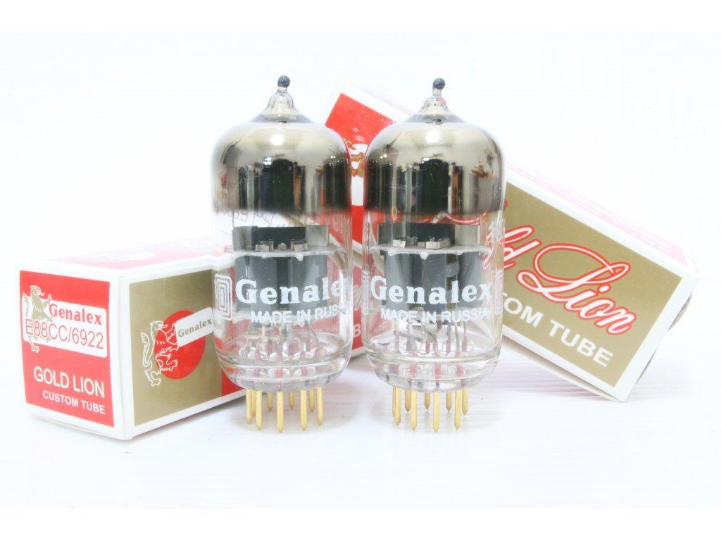 NN GL 6922 Gold Lion 6922 E88CC Genalex 1