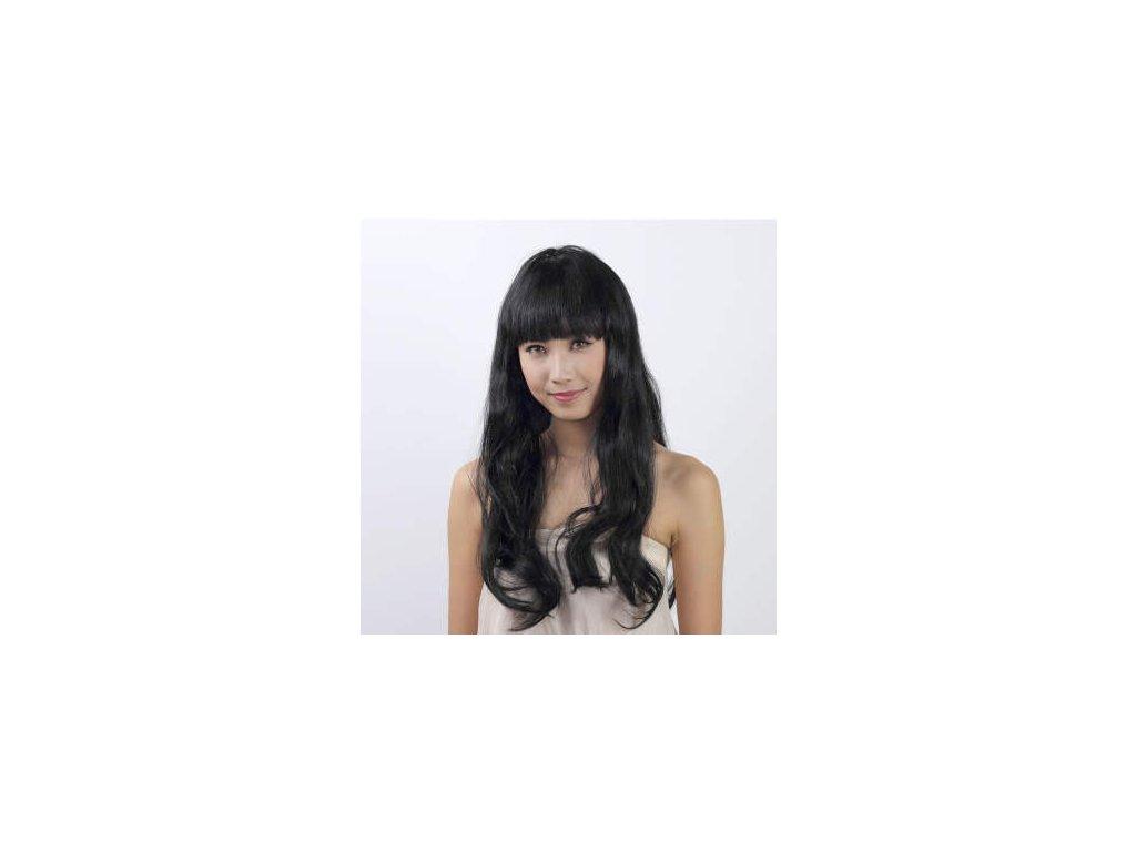 Paruka - Dlouhé Černé Vlasy