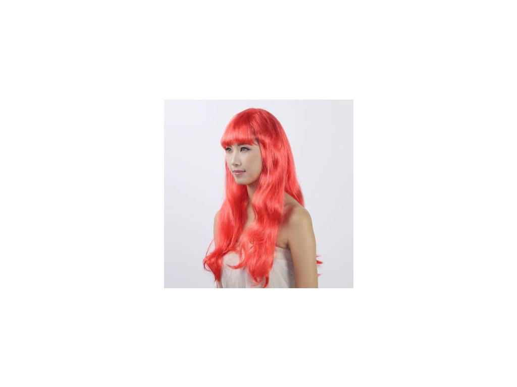 Paruka - Dlouhé Červené Vlasy