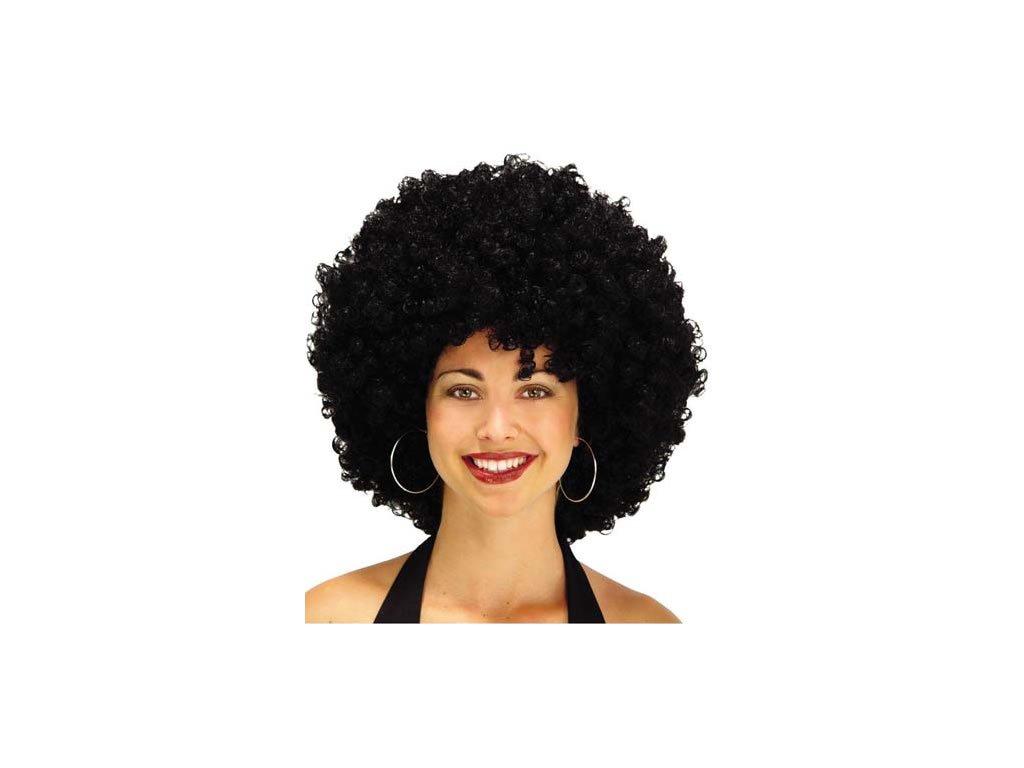 Paruka Afro - Černé