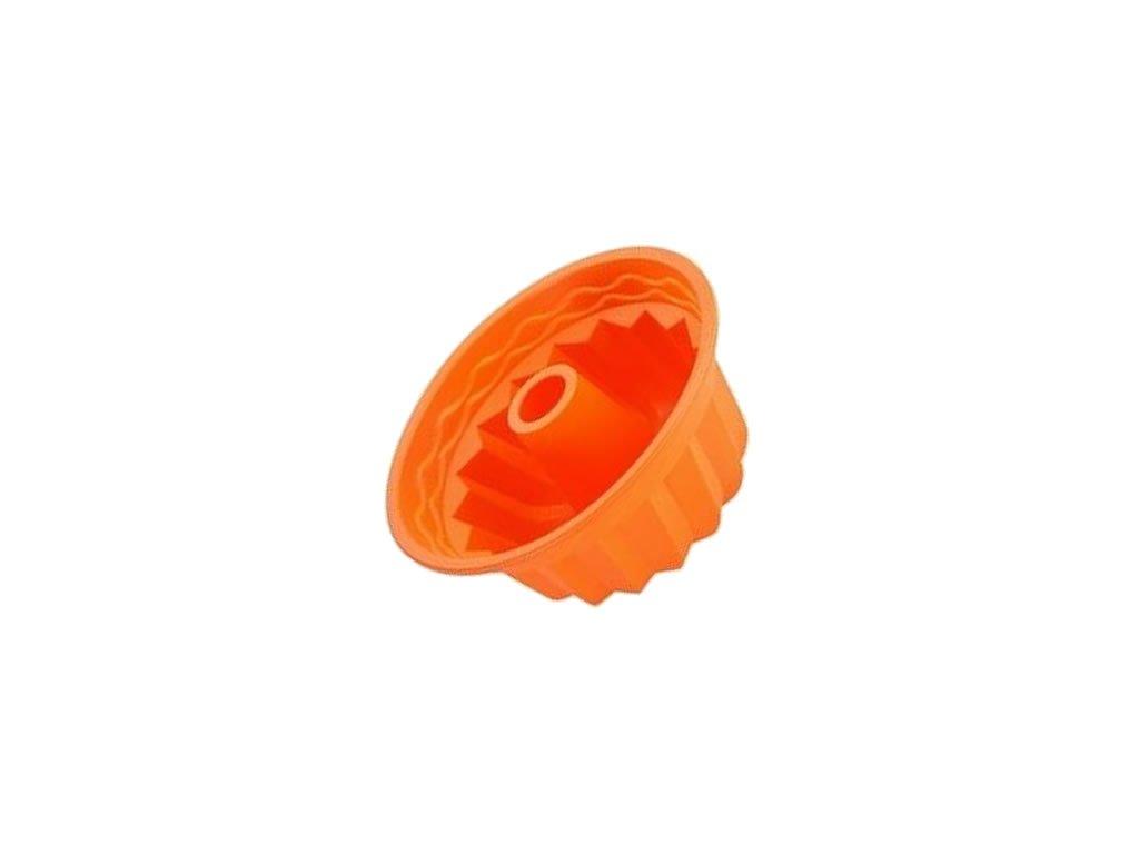 Silikonová Forma Na Bábovku (Barva Náhodná barva)