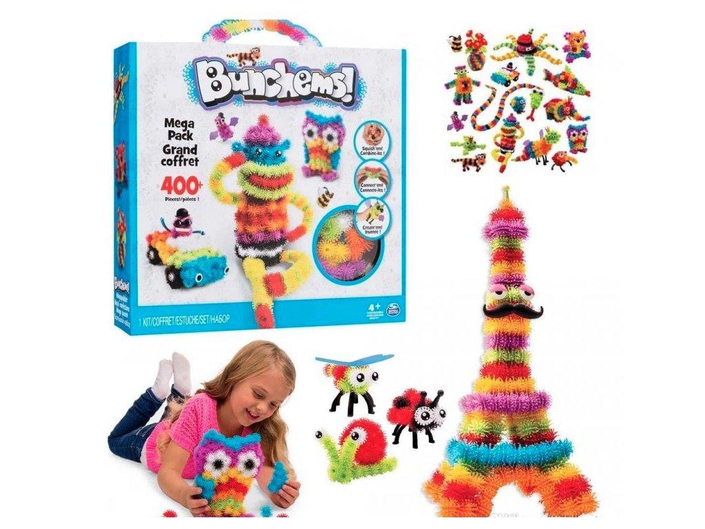 Bunchems kreativní sada 400kusů - Thorn Ball
