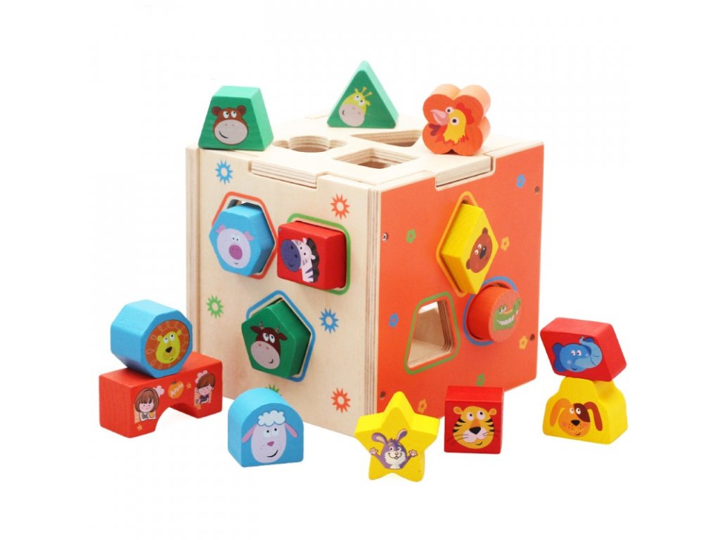 cartoon shape sorter 2