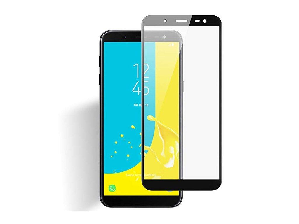 3D Ochranné Tvrzené Sklo Pro Samsung Galaxy J6 (2018) ČERNÉ