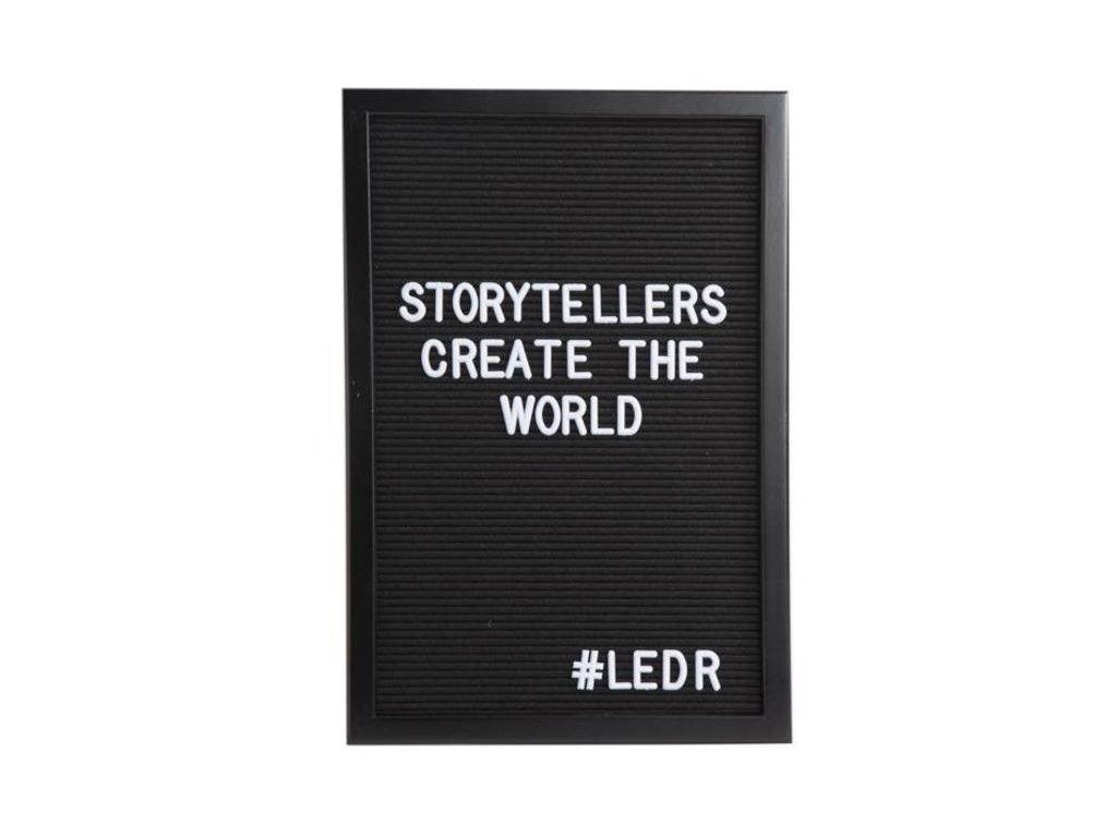ledr letter board 30 x 45 all black