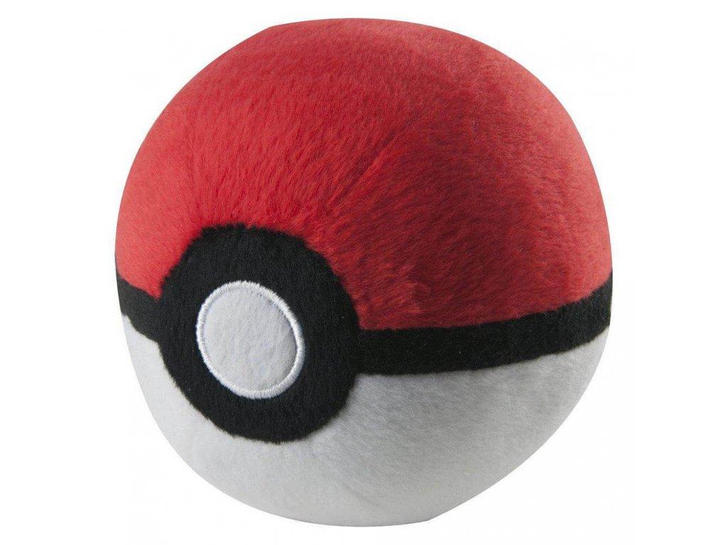 pokemon plysovy pokeball