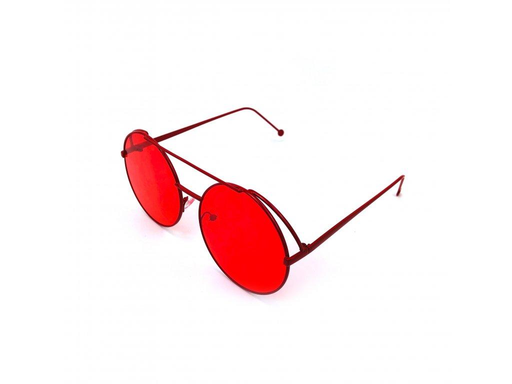 Sluneční Brýle Lenonky - Červené