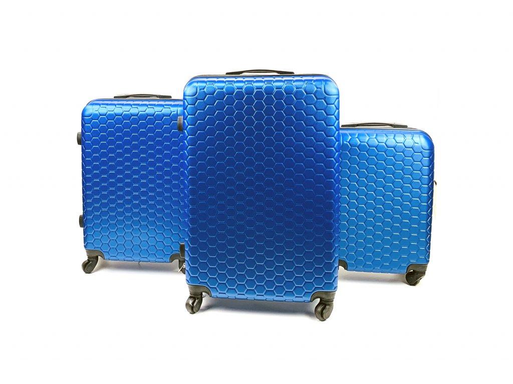 133892 1 cestovni skorepinovy kufr modry sada 3 ks