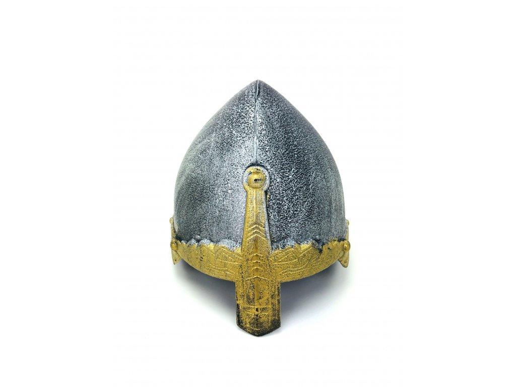 133976 2 helma bojovnika stribrna typ 2