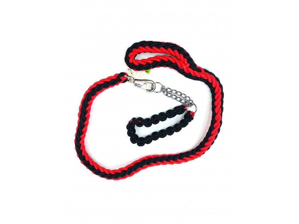 134348 lanove voditko s obojkem pro psy 125 cm
